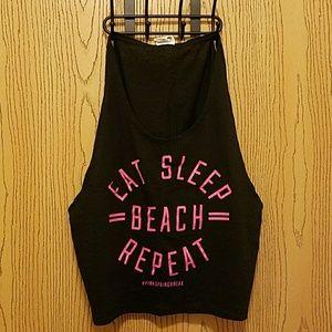 Eat, Sleep, Beach, Repeat Victoria's Secret Tank